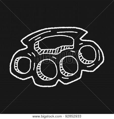 Knuckles Doodle