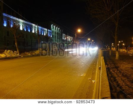 Street in the night