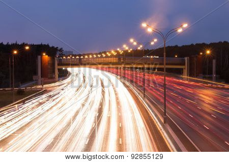 Highway At Evening