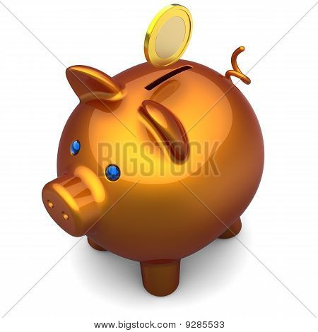 Piggy bank. Savings concept (Hi-Res)