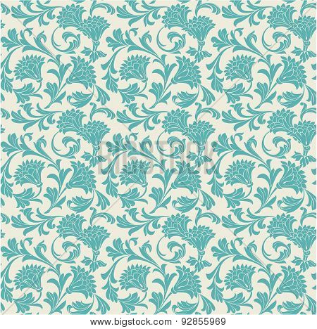 Vintage Wallpaper Pattern