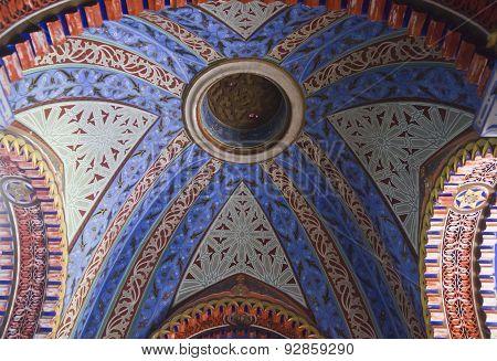 Sammezzano Ancient Castle Oriental Ceiling