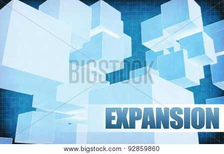 Expansion on Futuristic Abstract for Presentation Slide