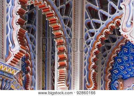 Decorative Archs In Oriental Style
