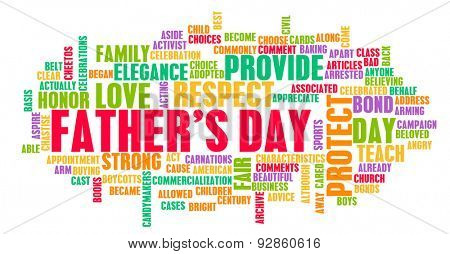 Father's Day As a Special Day with Words