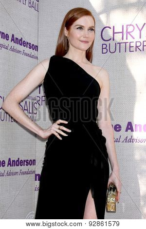 LOS ANGELES - JUN 6:  Darby Stanchfield at the 14th Annual Chrysalis Butterfly Ball at the Private Residence on June 6, 2015 in Los Angeles, CA
