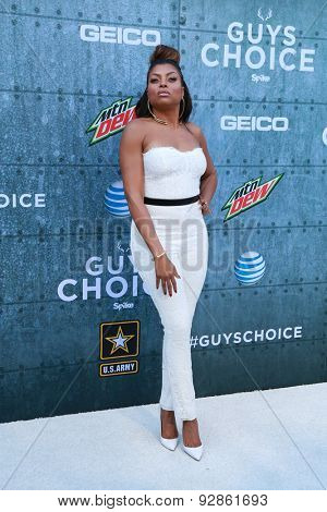 LOS ANGELES - JUN 6:  Taraji P. Henson at the Guys Choice Awards 2015 at the Culver City on June 6, 2015 in Sony Studios, CA