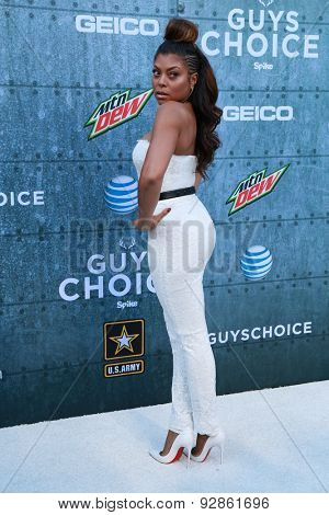 LOS ANGELES - JUN 6:  Taraji P. Henson at the Guys Choice Awards 2015 at the Culver City on June 6, 2015 in Sony Studios, CA