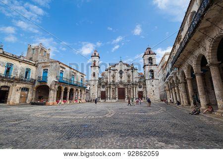 Havana Plaza De La Catedral