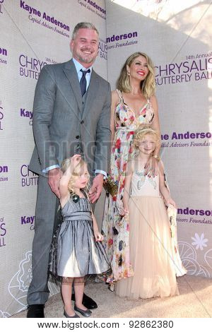 LOS ANGELES - JUN 6:  Eric Dane, Rebecca Gayheart at the 14th Annual Chrysalis Butterfly Ball at the Private Residence on June 6, 2015 in Los Angeles, CA