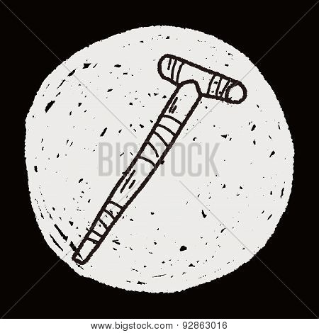 Crutch Doodle