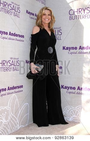 LOS ANGELES - JUN 6:  Vanna White at the 14th Annual Chrysalis Butterfly Ball at the Private Residence on June 6, 2015 in Los Angeles, CA