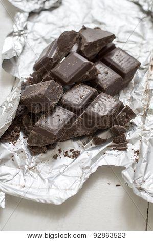 Chocolate Pieces.