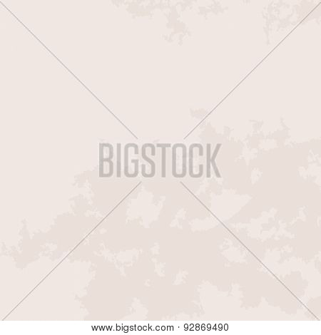 Grunge beige background. Vector illustration with space for text