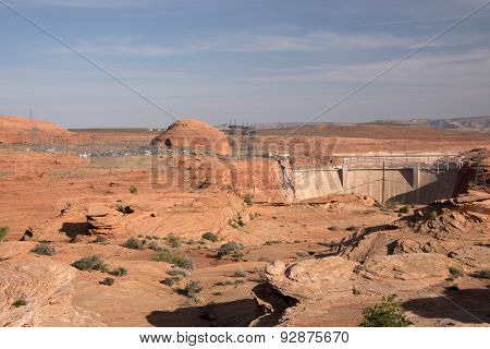 Glen Canyon Dam, Arizona, Usa