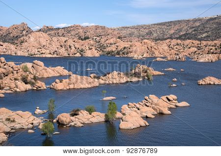 Watson Lake Park, Arizona, Usa