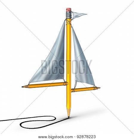 Sailing Creativity Metaphor