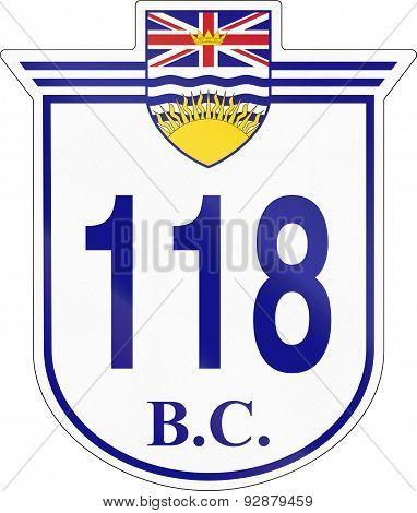 British Columbia Highway 118