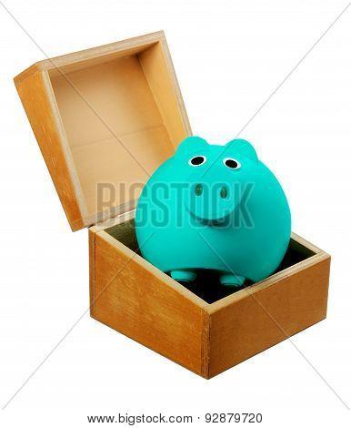 Piggy Bank In Box