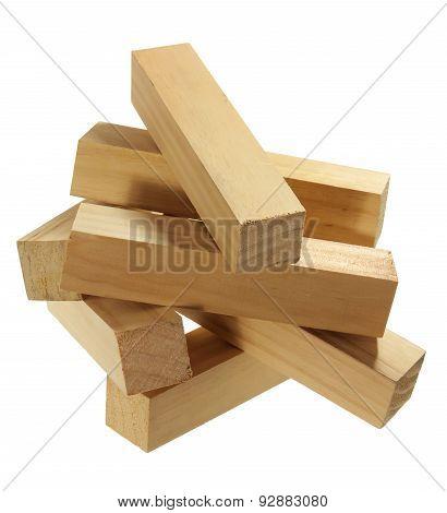 Stack Of Wood Blocks