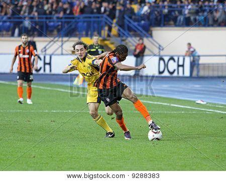 Metalist Kharkiv Vs Shakhtar Football Match