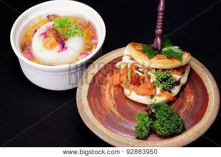 Asian Pancake And Pudding