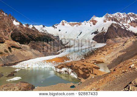 Laguna Torre in Los Glaciales NP,Patagonia,Argentina