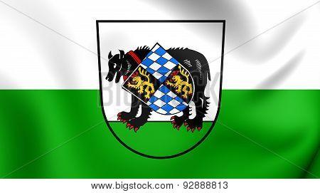 Flag Of The Barnau, Germany.