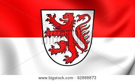 Flag Of Braunschweig, Germany