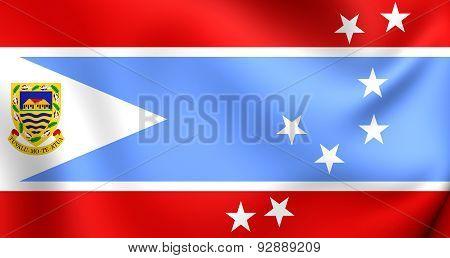 Flag Of The Tuvalu (1995-1997)