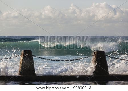Waves Ocean Tidal Pool