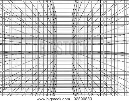 Abstract Construction Of Grid Wire Vector