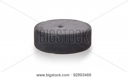 Hockey Puck Isolated