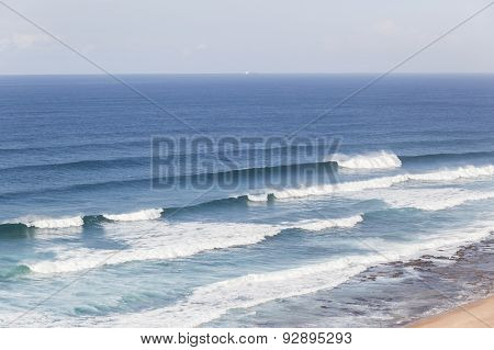 Ocean Waves Landscape