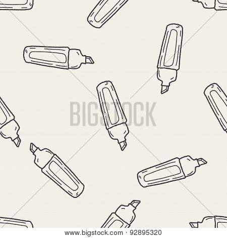Highlighter Pen Doodle