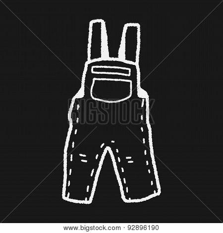 Overalls Doodle