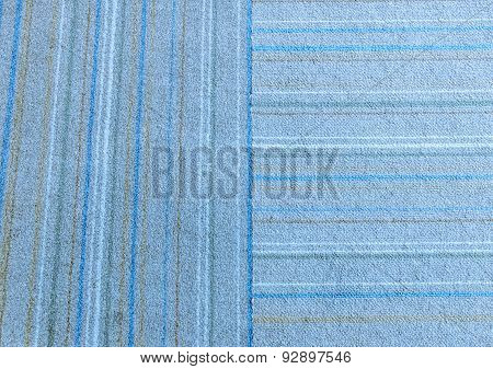 Old Doormat Texture In Blue Tone