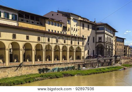 View Of Uffizi Gallery, Florence
