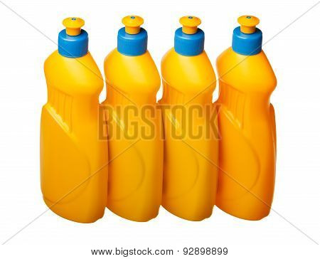 Four Plastic Bottles Range