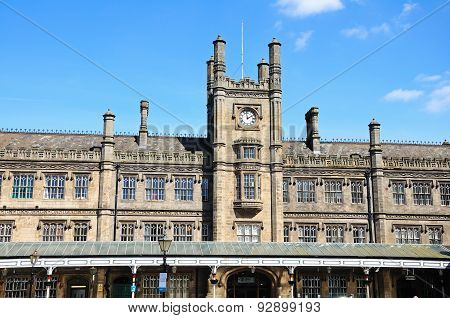 Shrewsbury Railway Station.