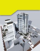 foto of high-rise  - Two high - JPG