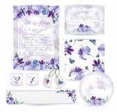 pic of letterhead  - Blue flowers - JPG