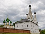 picture of uglich  - Alexeevsky monastery in Uglich - JPG