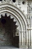 stock photo of chapels  - San Victorian chapel in San Juan de la Pena Monastery - JPG