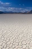 picture of mud  - Mud and Clay of Dried and Unique Racetrack Playa in Deat Valley In California - JPG
