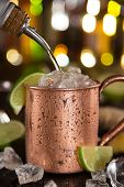 picture of vodka  - Cold Moscow Mule  - JPG