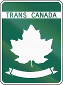 stock photo of trans  - Template highway shield of the Trans - JPG