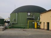 stock photo of biogas  - biogas digester tanks Kloko - JPG