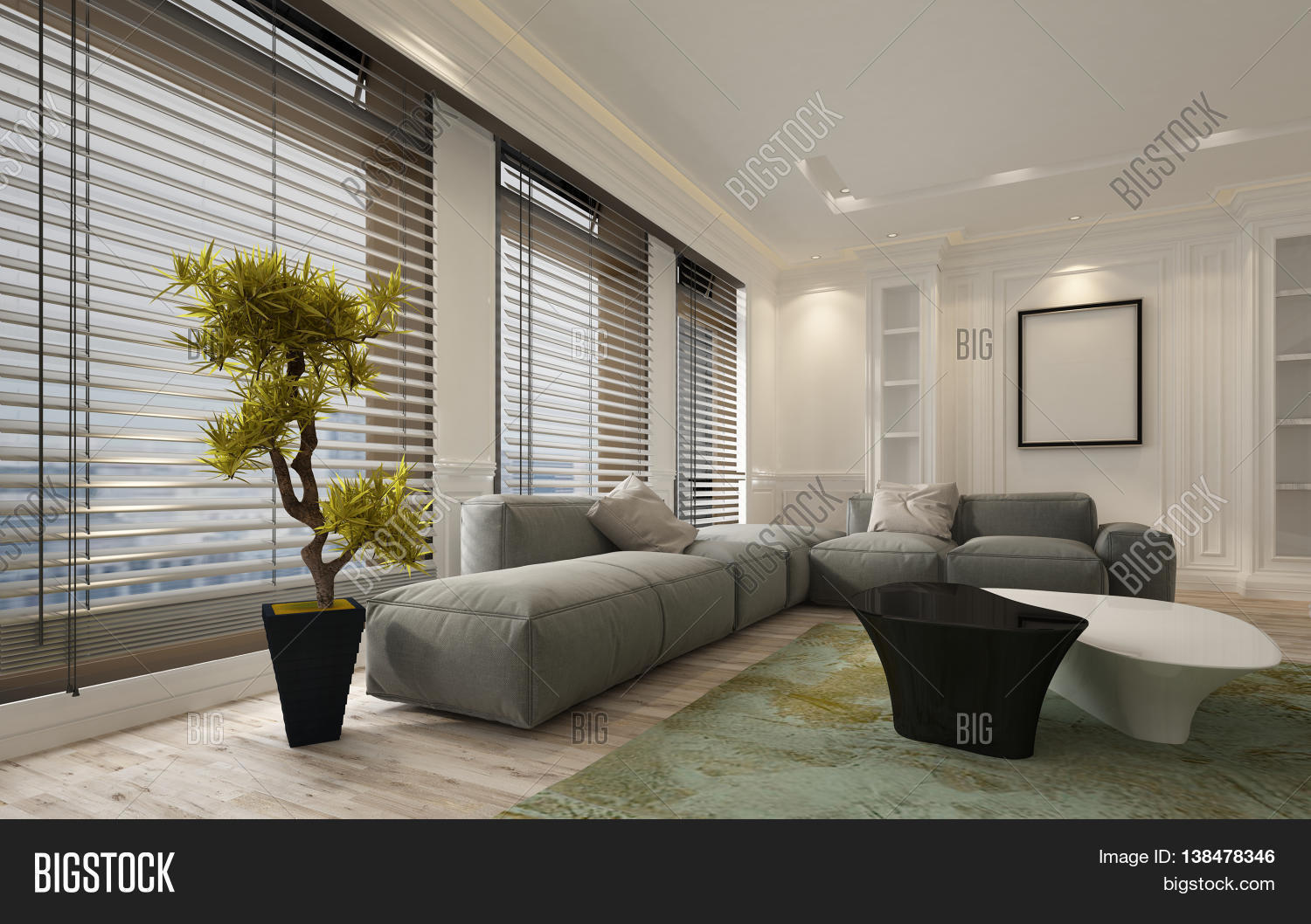 Fancy Apartment Living Room Image Amp Photo Bigstock