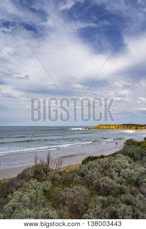 Summer Day at Bells Beach, Victoria, Australia